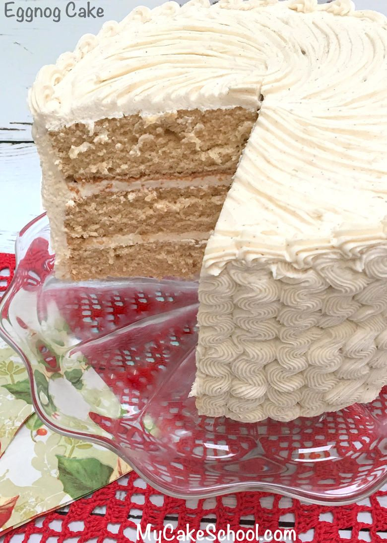 Best Eggnog Cake Recipe