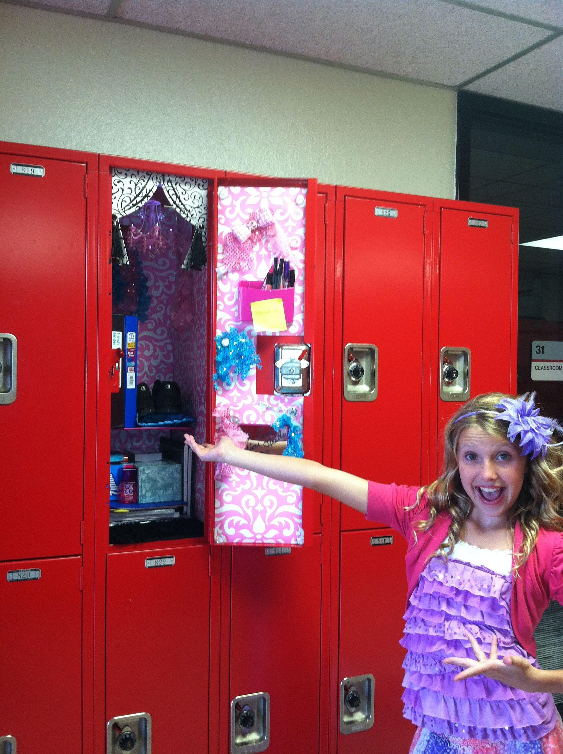 Locker Decor School Lockers Girls Locker Ideas Locker Decorations