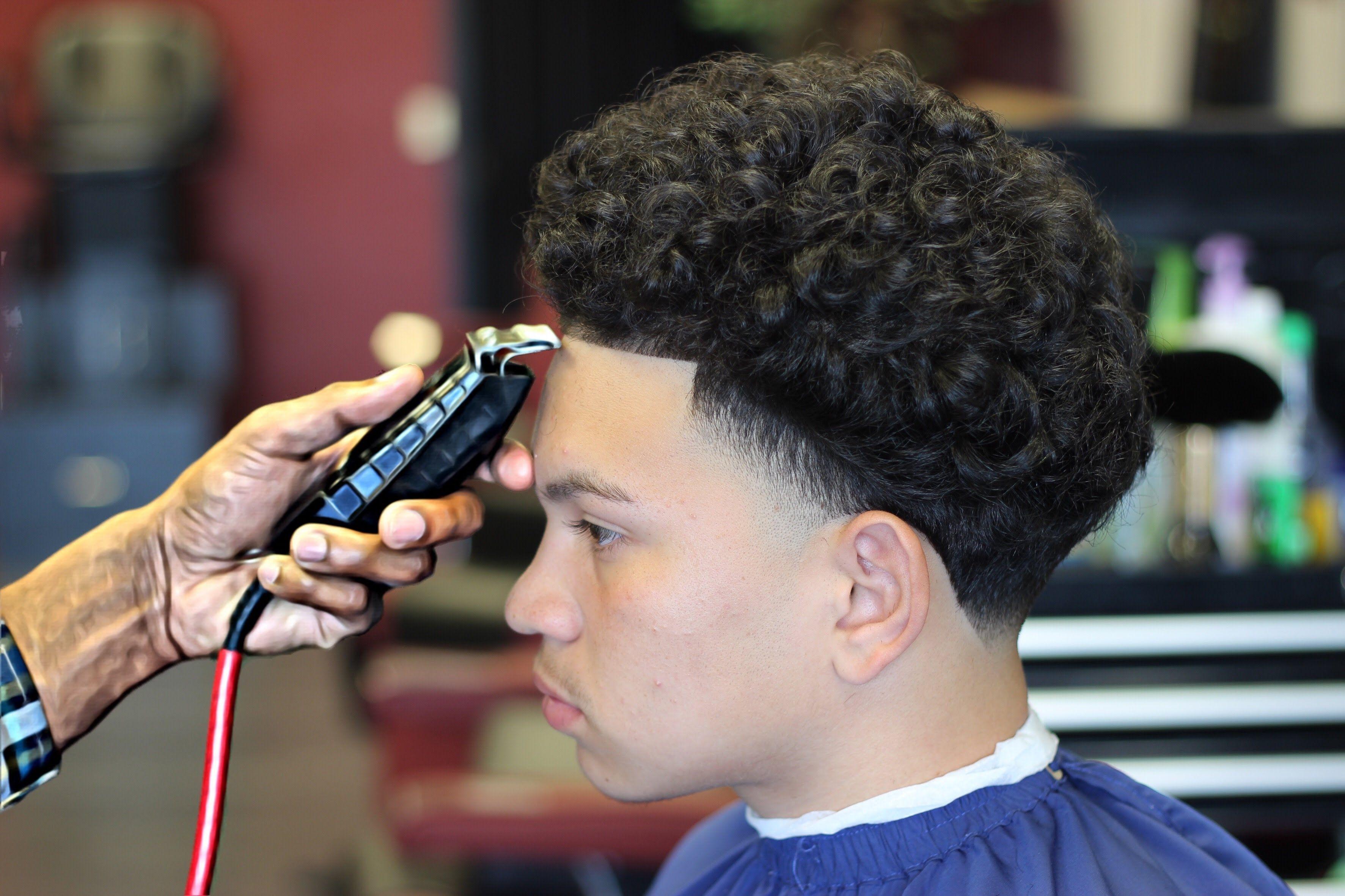 Freshest Blowout Taper Hd Blowout Hair Tutorial Blowout Haircut Fade Haircut