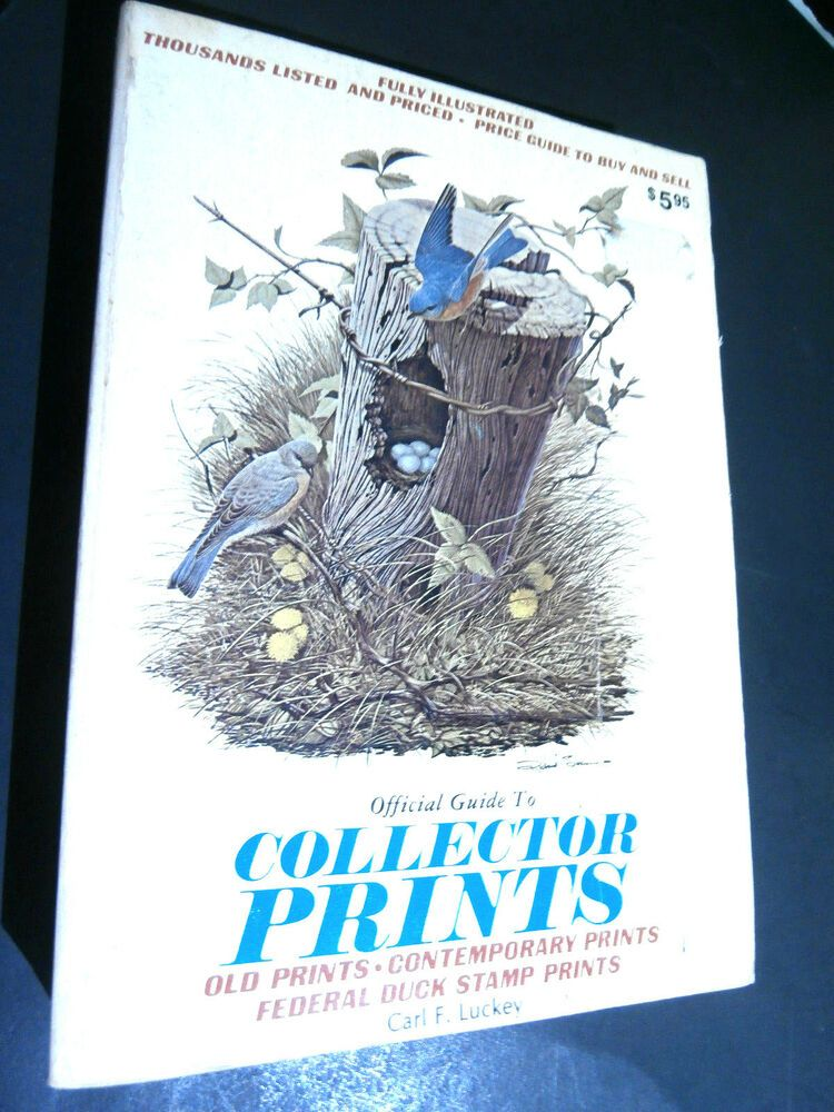 Official Guide to Collector Prints Carl Luckey(MCMLXXVI