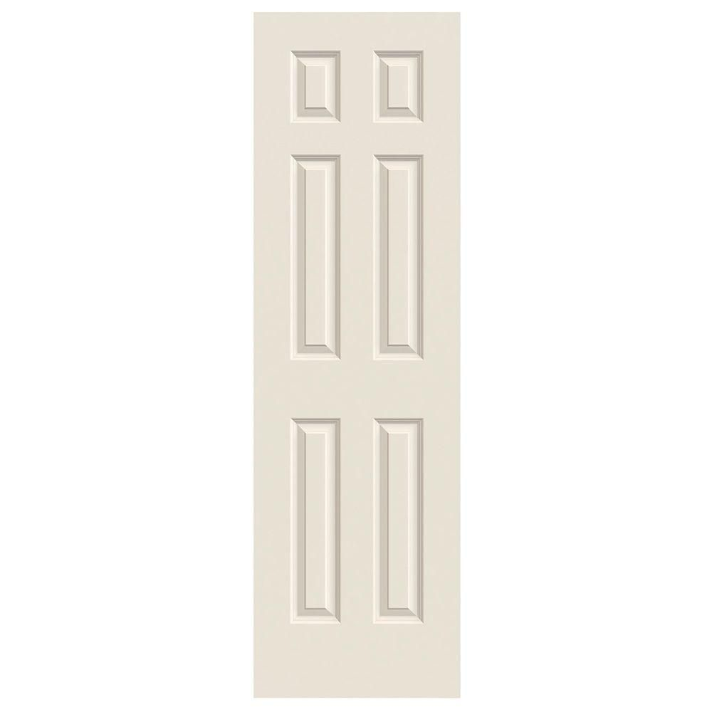 Jeld Wen 24 In X 80 In Colonist Primed Textured Molded Composite Mdf Interior Door Slab Thdqc236300001 The Home Depot Prehung Interior Doors Doors Interior Prehung Doors