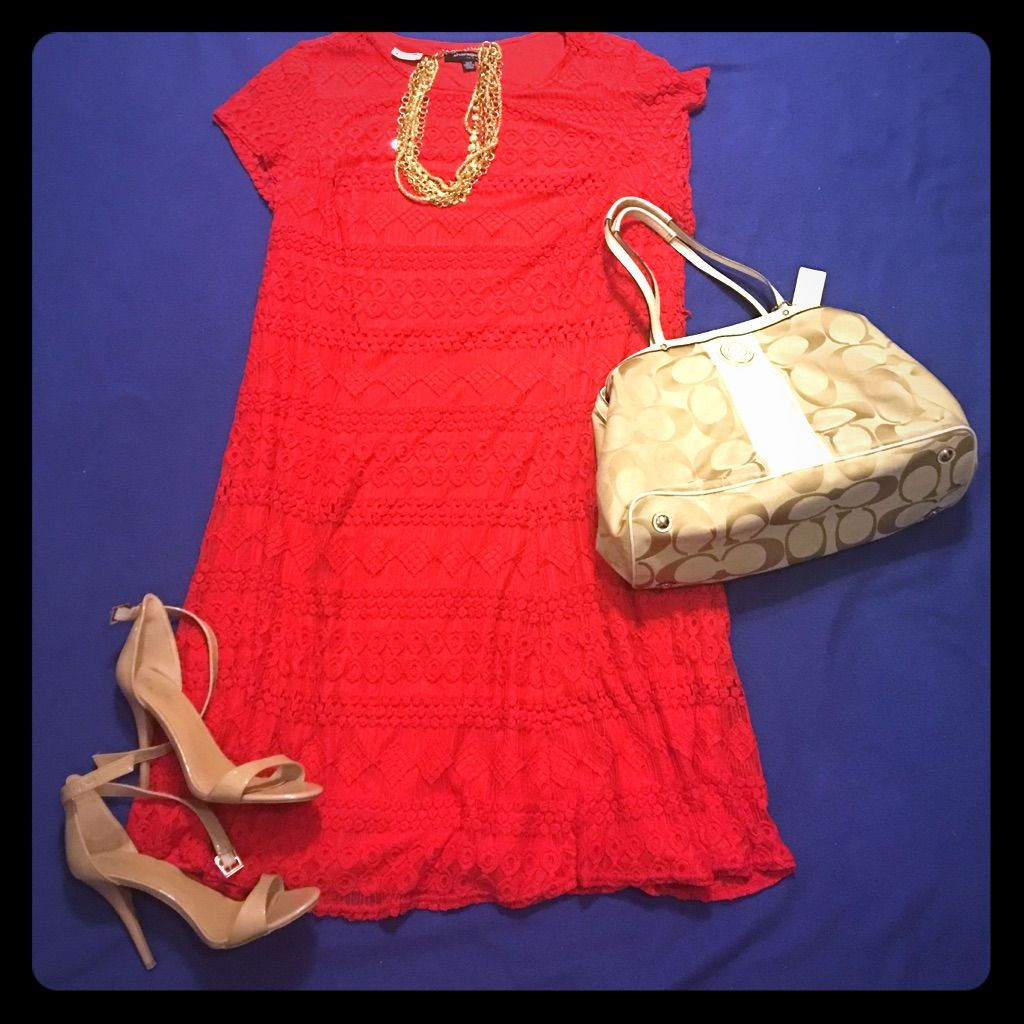 Red lace aline dress red lace and products