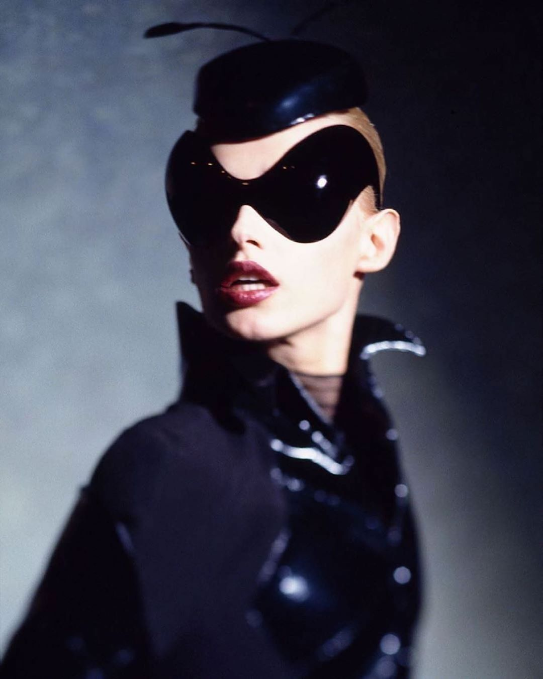 Jean Baptiste Rougeot On Instagram Saturday Incognito 1997 Muglerized Ant Pic By The Only Dominiqueissermann In 2020 Mugler Cyberpunk Fashion Fashion