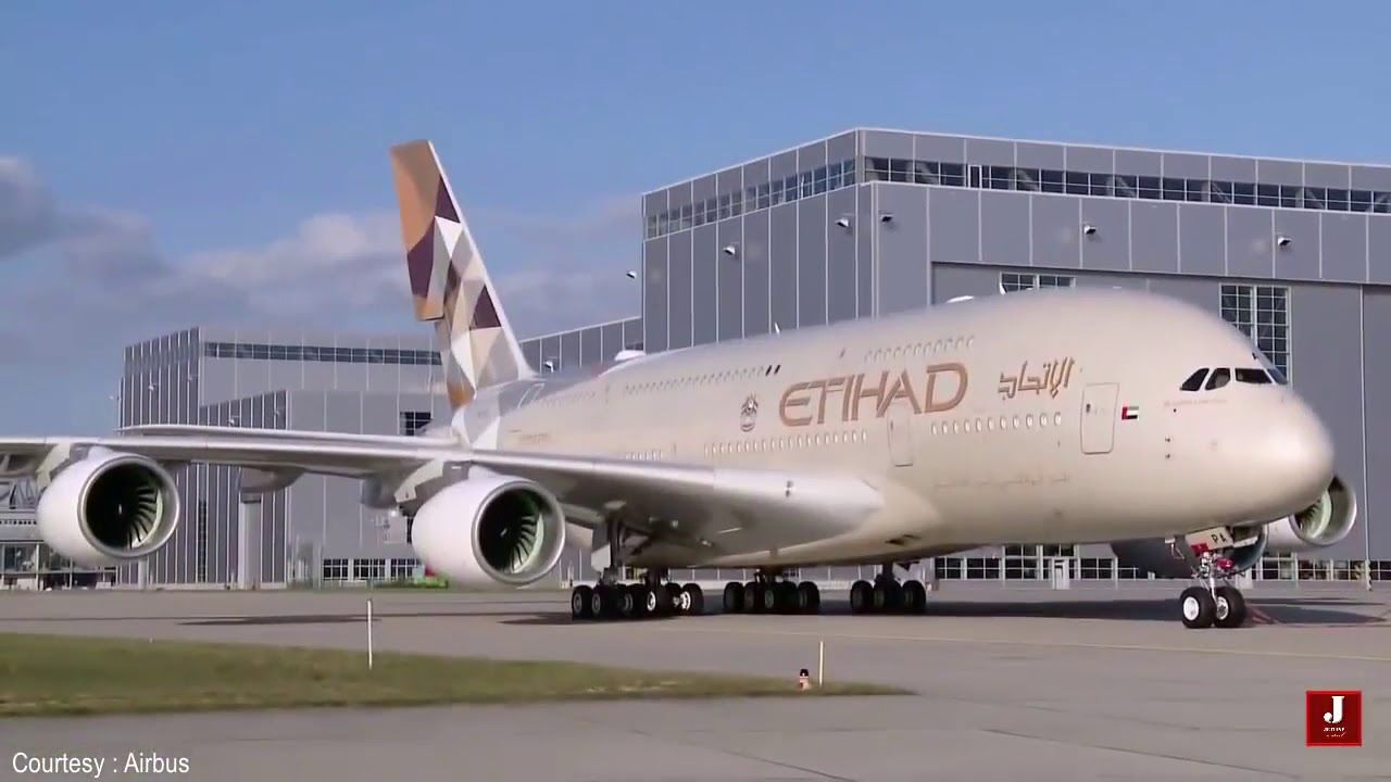 The Airbus A380 Made For Etihad Etihad Pinterest Airbus A380
