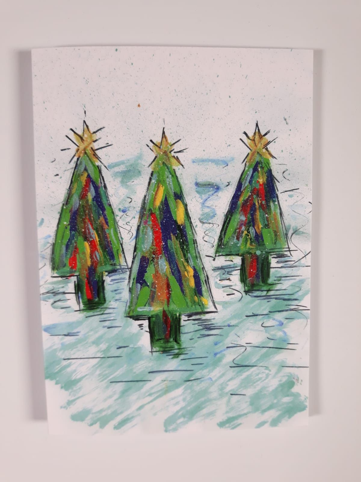 Get writing christmas cards 5 designs available on my