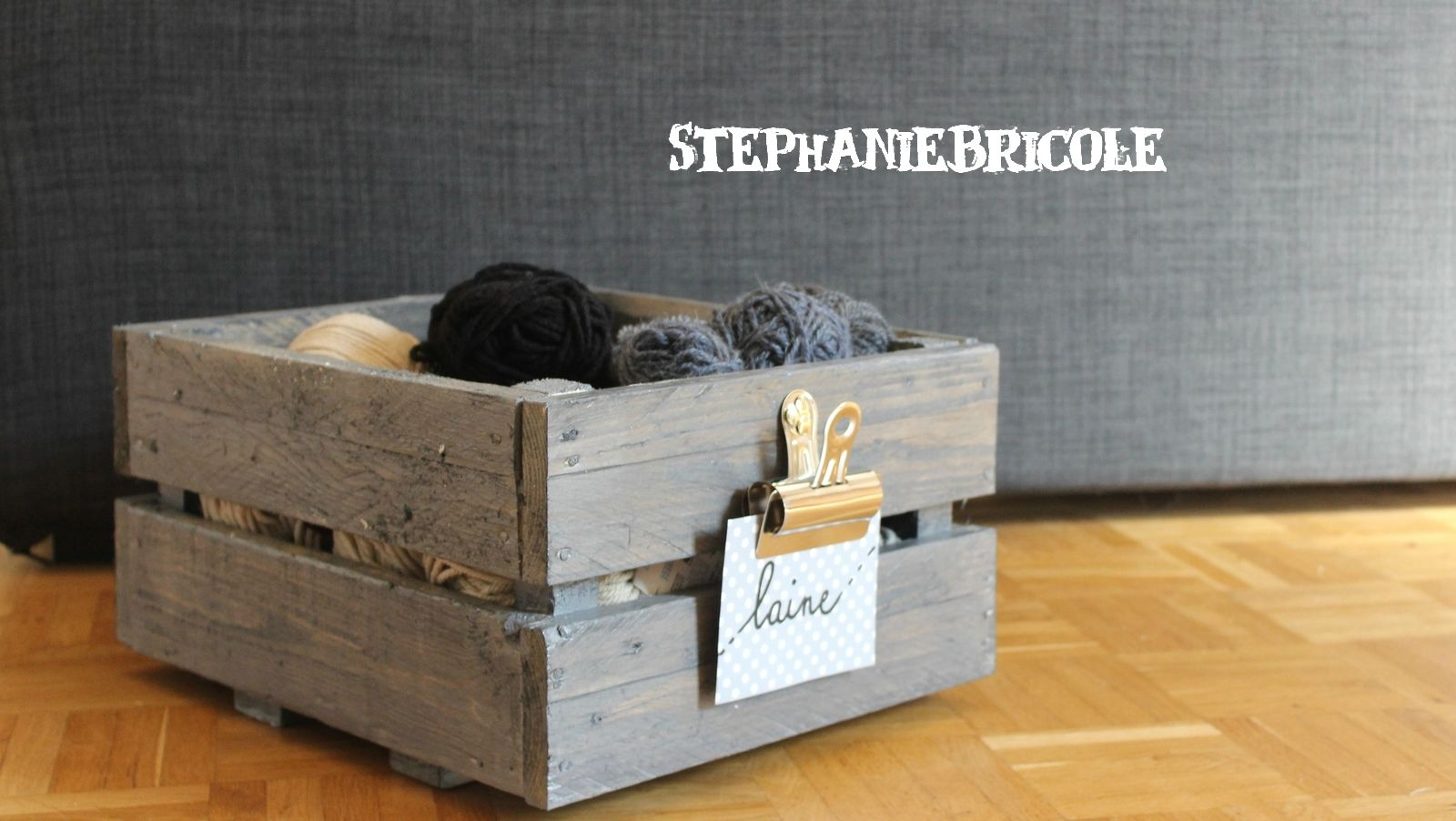 blog diy d co r cup faire soi m me une caisse vintage avec des palettes home deco faire. Black Bedroom Furniture Sets. Home Design Ideas