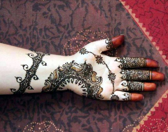 New Party Mehndi Designs : Mehndi designs easy and simple for brides party