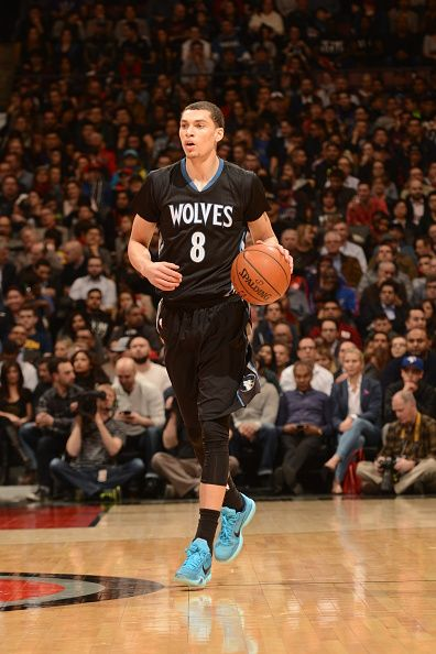 8ea434d008cf3d Zach LaVine does the Blue Lagoon Kobe X in last night s tilt with Toronto.  The dunk-master nicely compliments the TWolves trim with first colorway ...