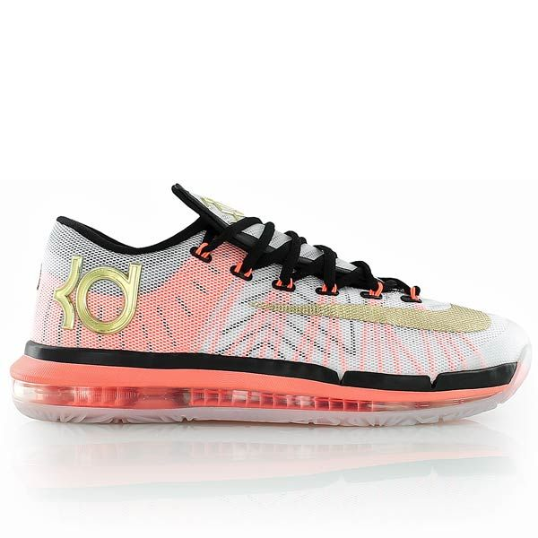 nike KD 6 ELITE white/metal gold/black bei KICKZ.com