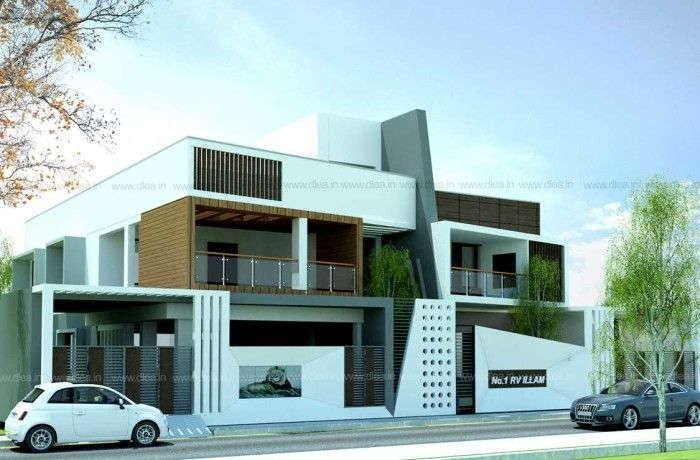 Residence For Mr Barathan Residential Architecture Design In