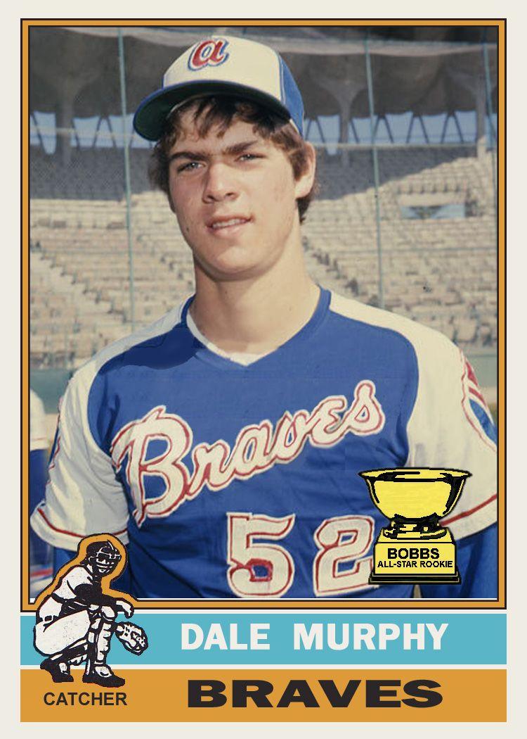 Dale Murphy Atlanta Braves Braves Braves Baseball