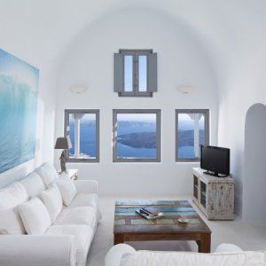 White Santorini Living Room Designs For Small Space  Living Room Amazing Small Space Living Room Design Review