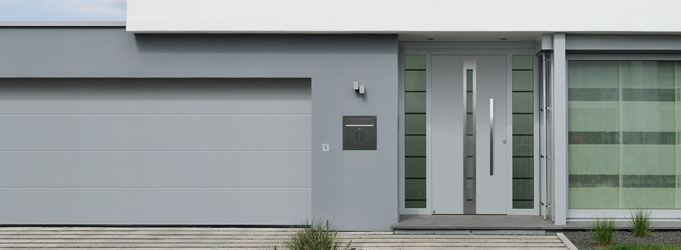 Front entrance and garage doors from Hormann | Garage and Entrance ...