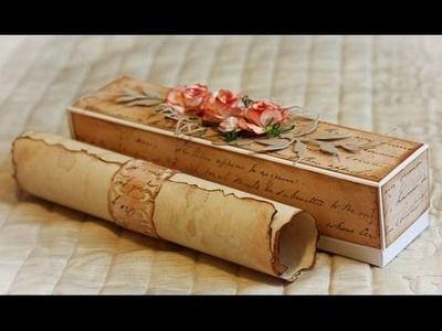DIY:Как сделать старинную бумагу.