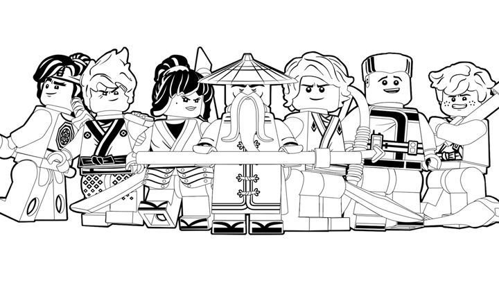 Cool Lego Ninjago Coloring Pages Coloriage Ninjago Coloriage