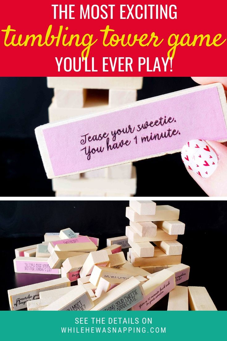 Couples jenga the perfect at home date night game with