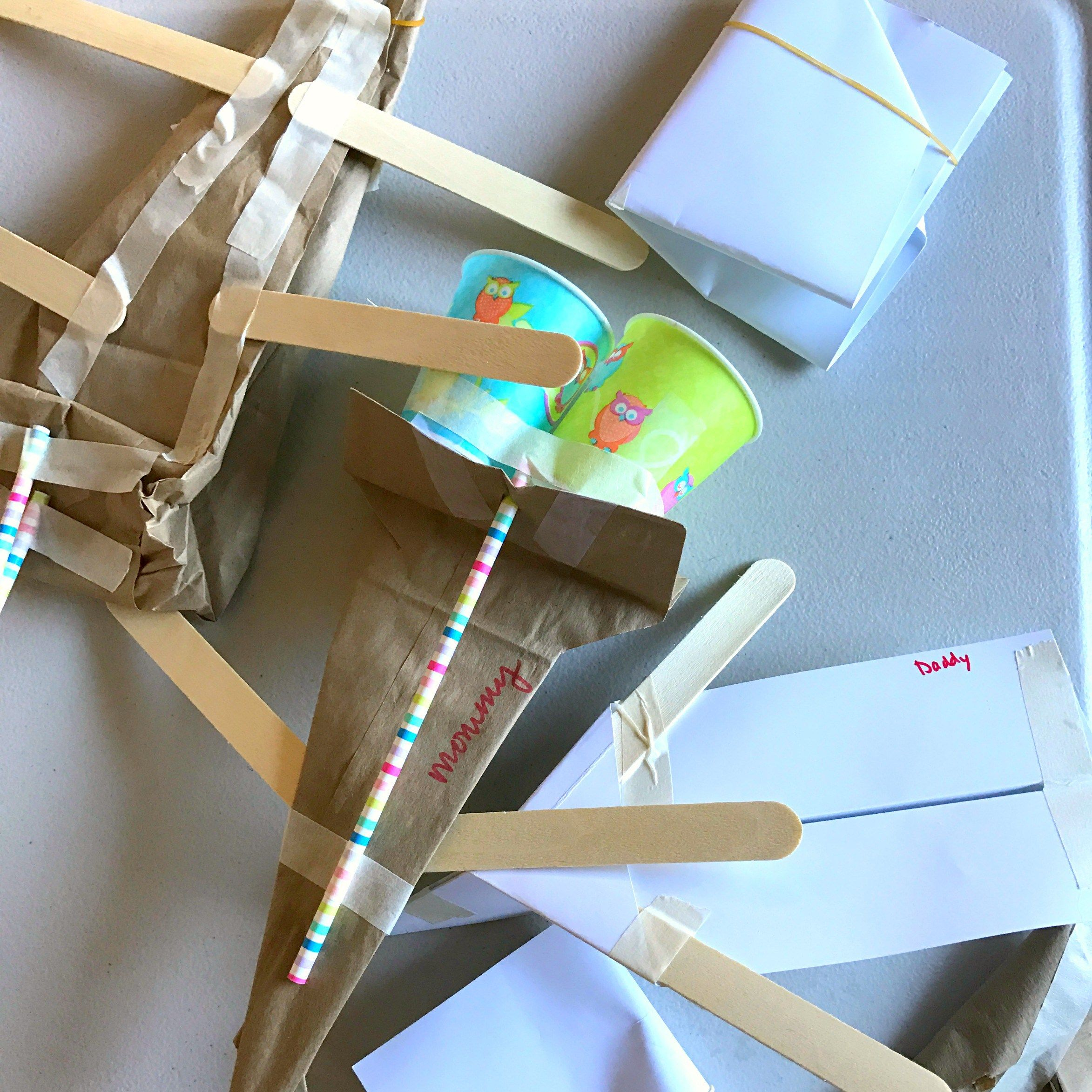 Build A Flying Machine Stem Challenge For Kids With