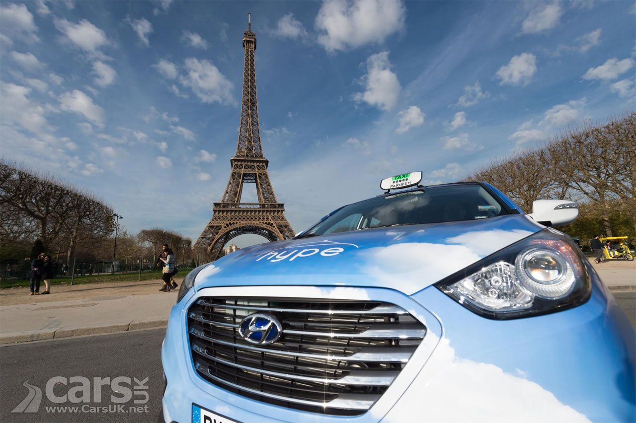 An extra 60 Hyundai ix35 Hydrogen Fuel Cell taxis for