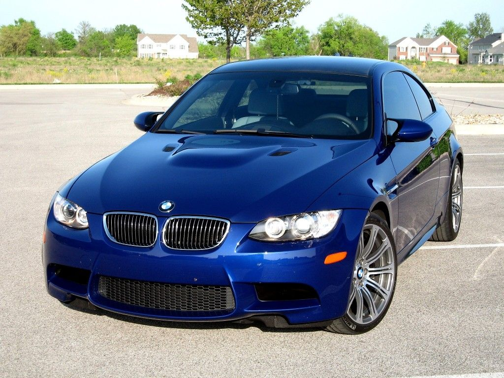 M3 In Interlagos Blue Coupe Bmw Bmw M3