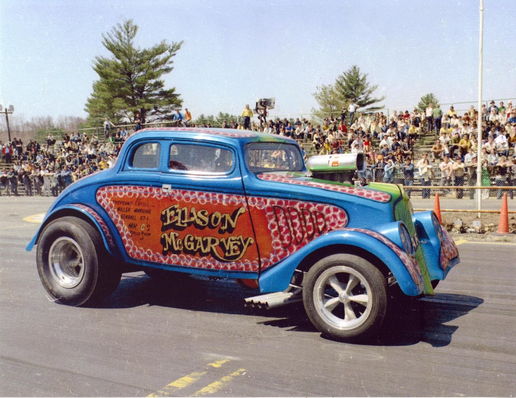 33 Willys Gasser Ellison Mcgarvey Classic Cars Vintage Willys Drag Racing Cars