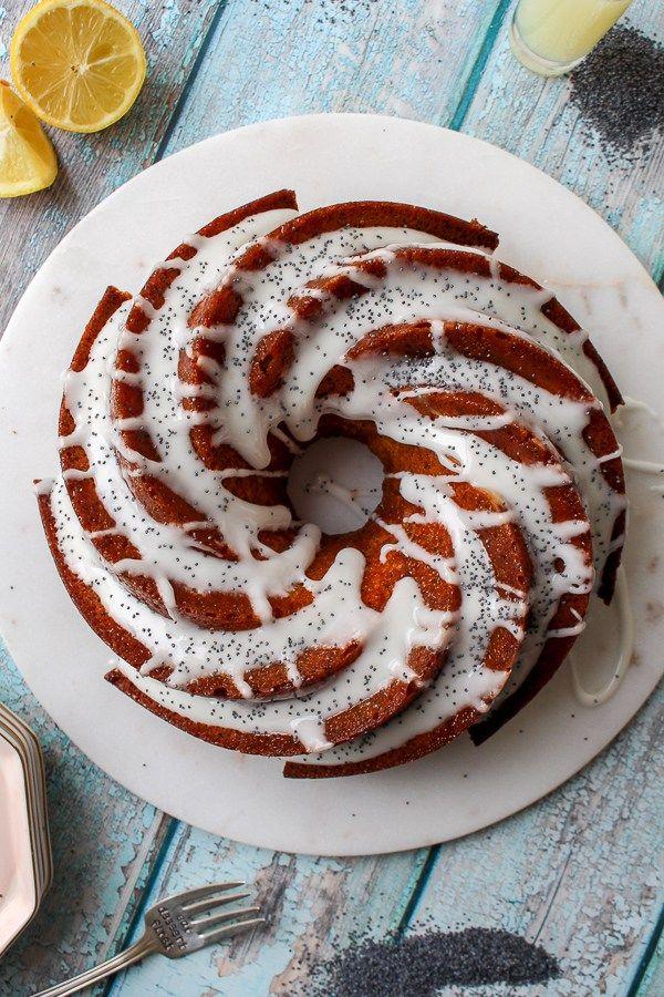 Lemon Poppy Seed Bundt Cake recipe | What Charlotte Baked