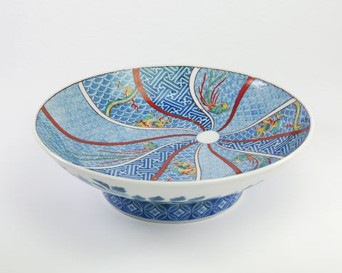nabeshima | Nabeshima Footed Bowl, Late 17th - Early 18th