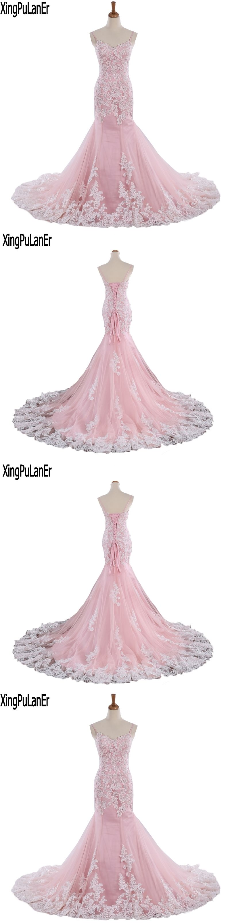 Robe de soiree vintage spaghetti strap sweetheart white lace