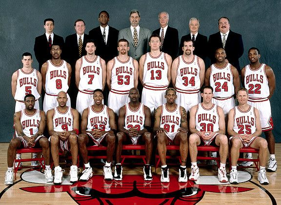 Chicago Bulls 1997-1998 roster  f1bb46dbe4