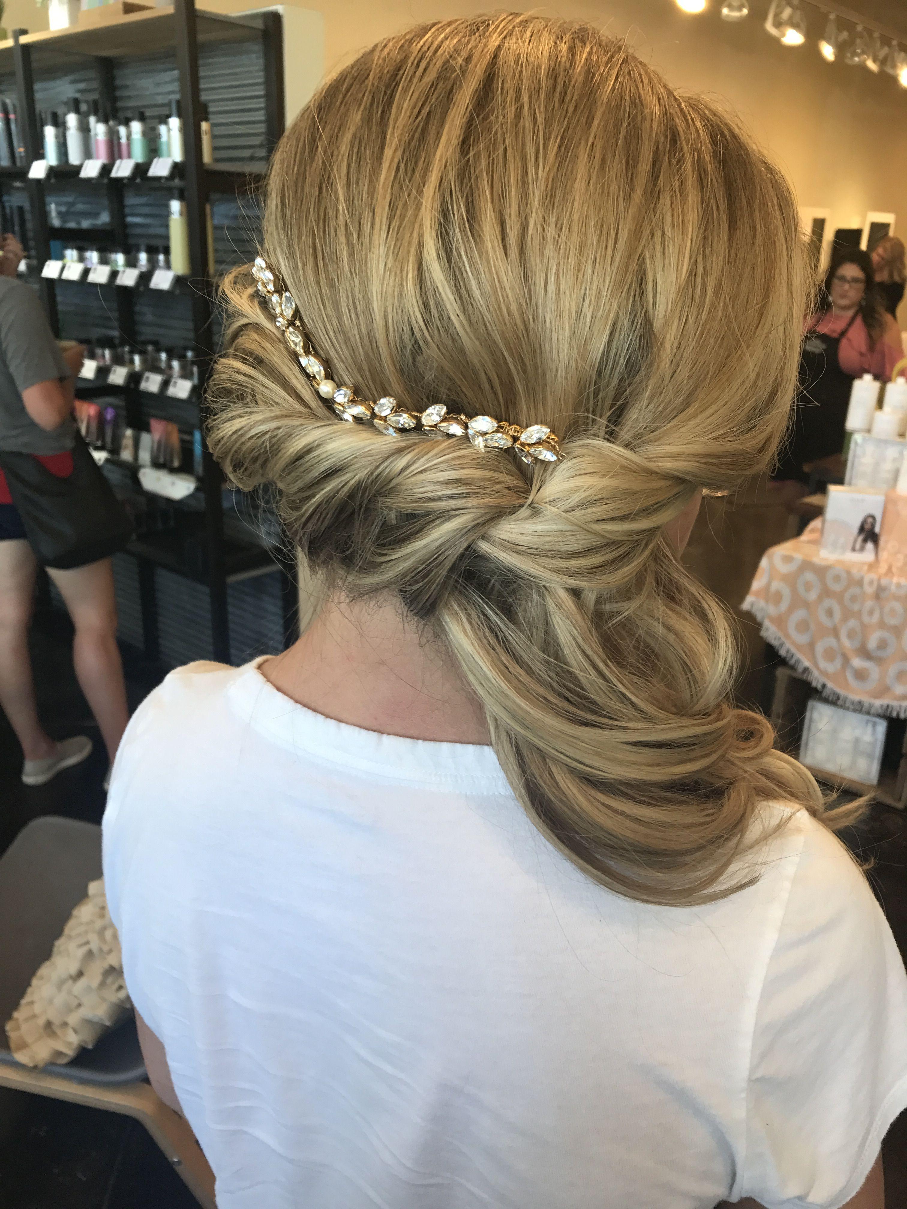 Wedding Hair Ready Hairbynatashafehlhaber Reveal Salon And Spa Omaha Ne Wedding Hairstyles Hair Hair Styles