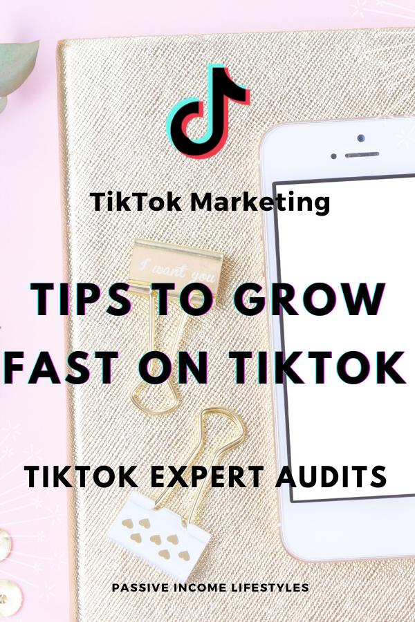 Tiktok Expert Audits Tips To Grow On Tiktok Fast Marketing Strategy Social Media Social Media Marketing Business Personal Marketing