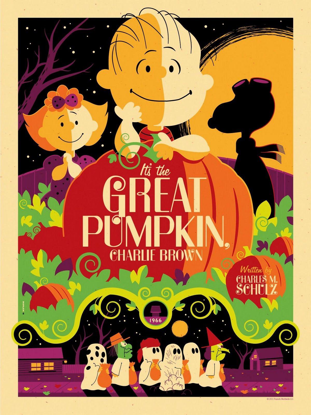 "Peanuts ""It\'s The Great Pumpkin, Charlie Brown"" Purple Variant ..."