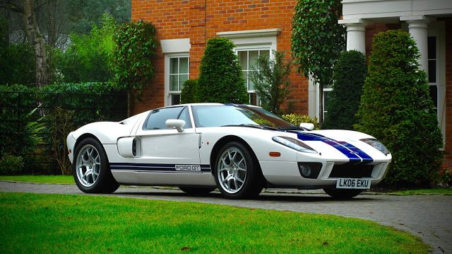 2005 Ford Gt Ex Jenson Button Sold At Silverstone Auction S For