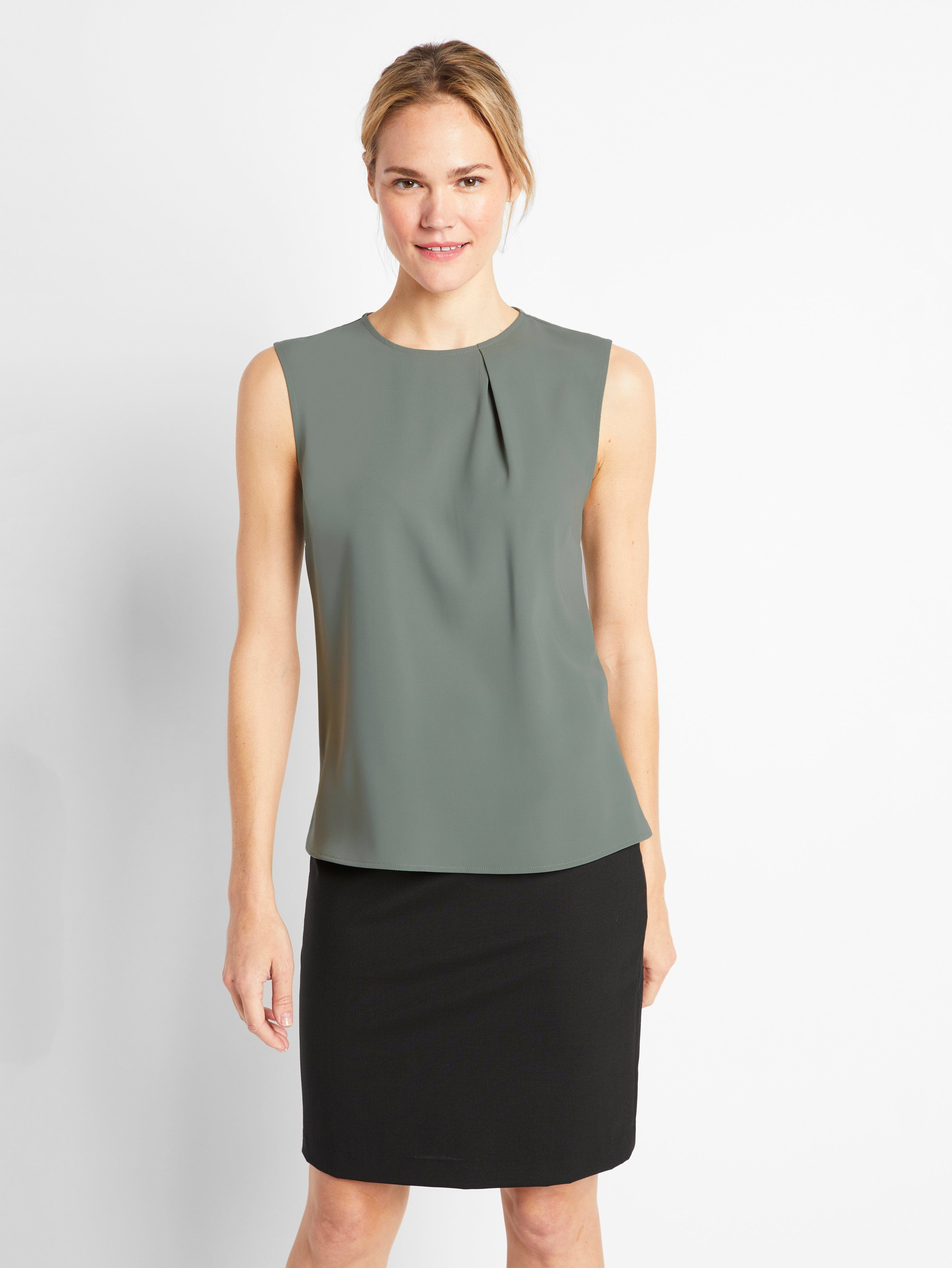 8cbc831676b833 Sage Morris Shell Top | Of Mercer Body Contouring, Shell Tops, Workwear,  Blouses