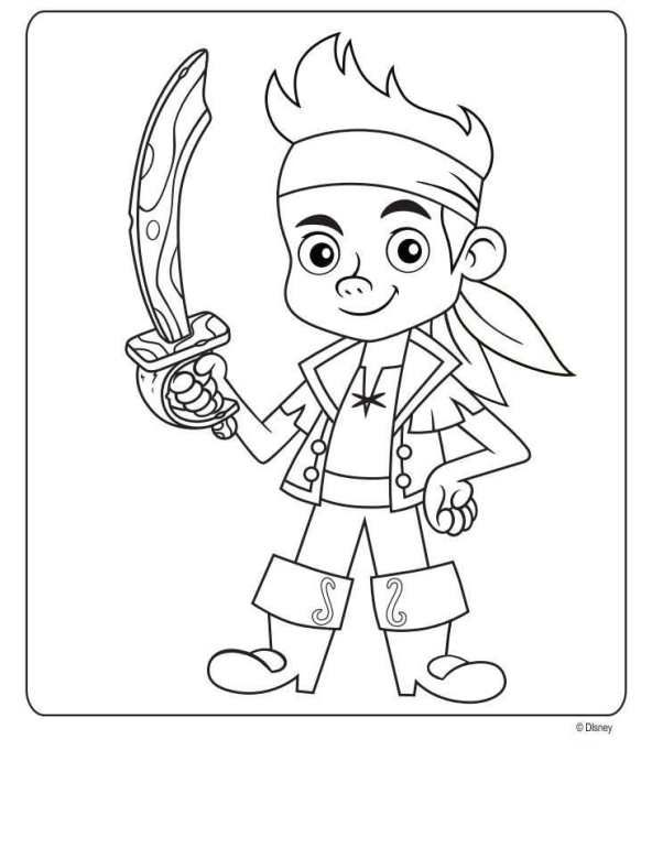 Jake and the Neverland Pirates Coloring Pages for Kids | Wyatt ...