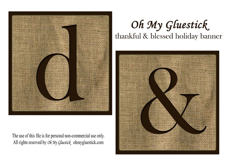 image relating to Printable Thanksgiving Banners called Printable Banners Templates Absolutely free  Fortunate: Absolutely free