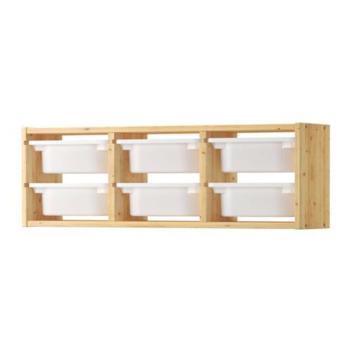 Trofast Wall Storage Ikea Perfect 47 For Papers Notebooks Folders
