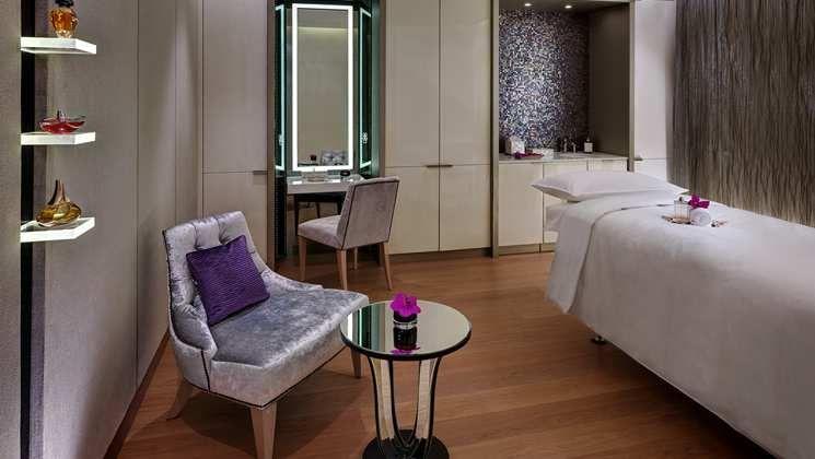 Indulge in a spa treatment at Waldorf Astoria Berlin.