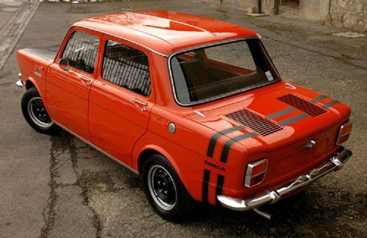 Simca 1000 Rally I 1973 Eerste Auto Automobiel Auto