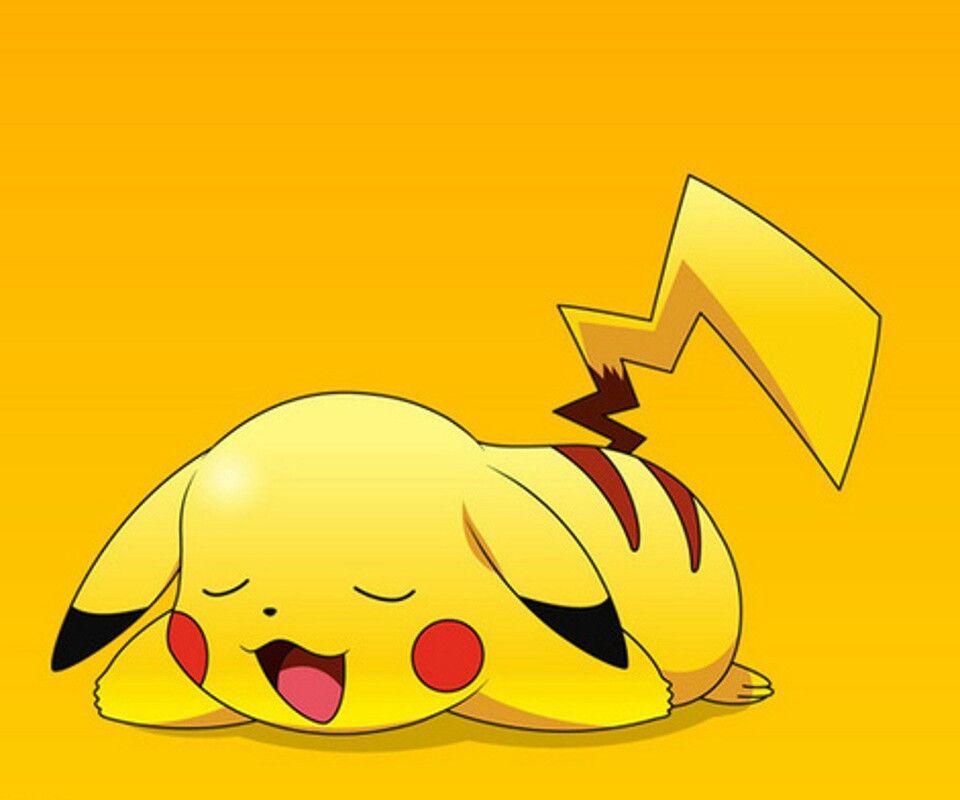 Pikachu Pikachu Cute Pikachu Cartoon Wallpaper