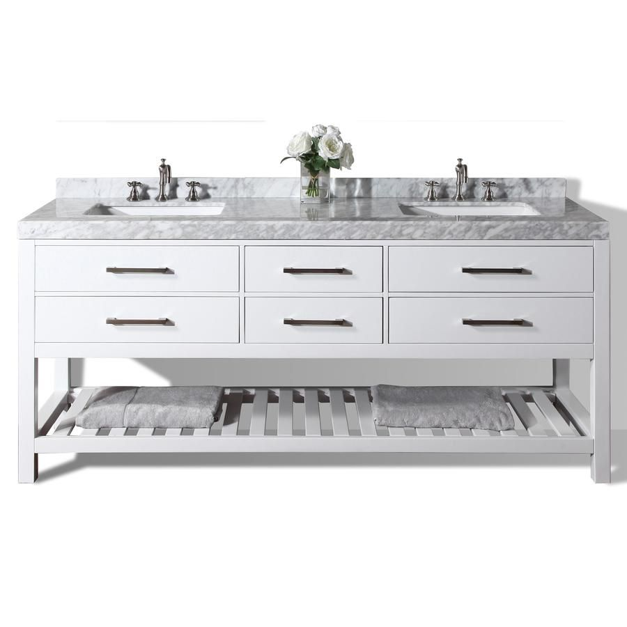 ancerre designs elizabeth white common 72 in x 22 in undermount rh pinterest com