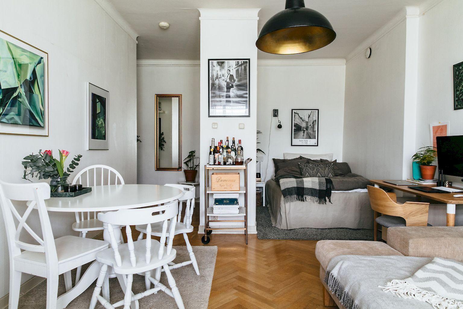 85 Stylish Apartment Studio Design And Decor Ideas Small