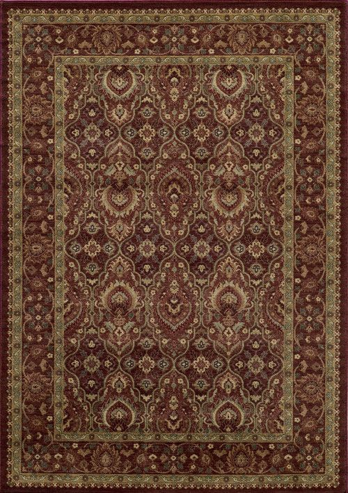 Momeni Belmobe 05red7a9a Turkish Machine Made Belmont Collection Red Finish Rugs Rugs Area Rugs Red Rugs