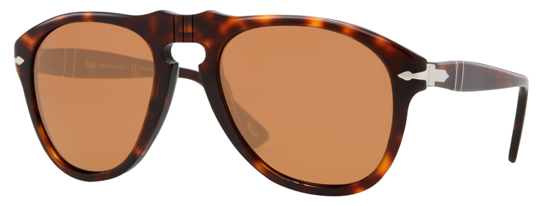 5345dea814 Discover the Persol 649 Series - with lenses Grey and frame Black in Full  Acetate.