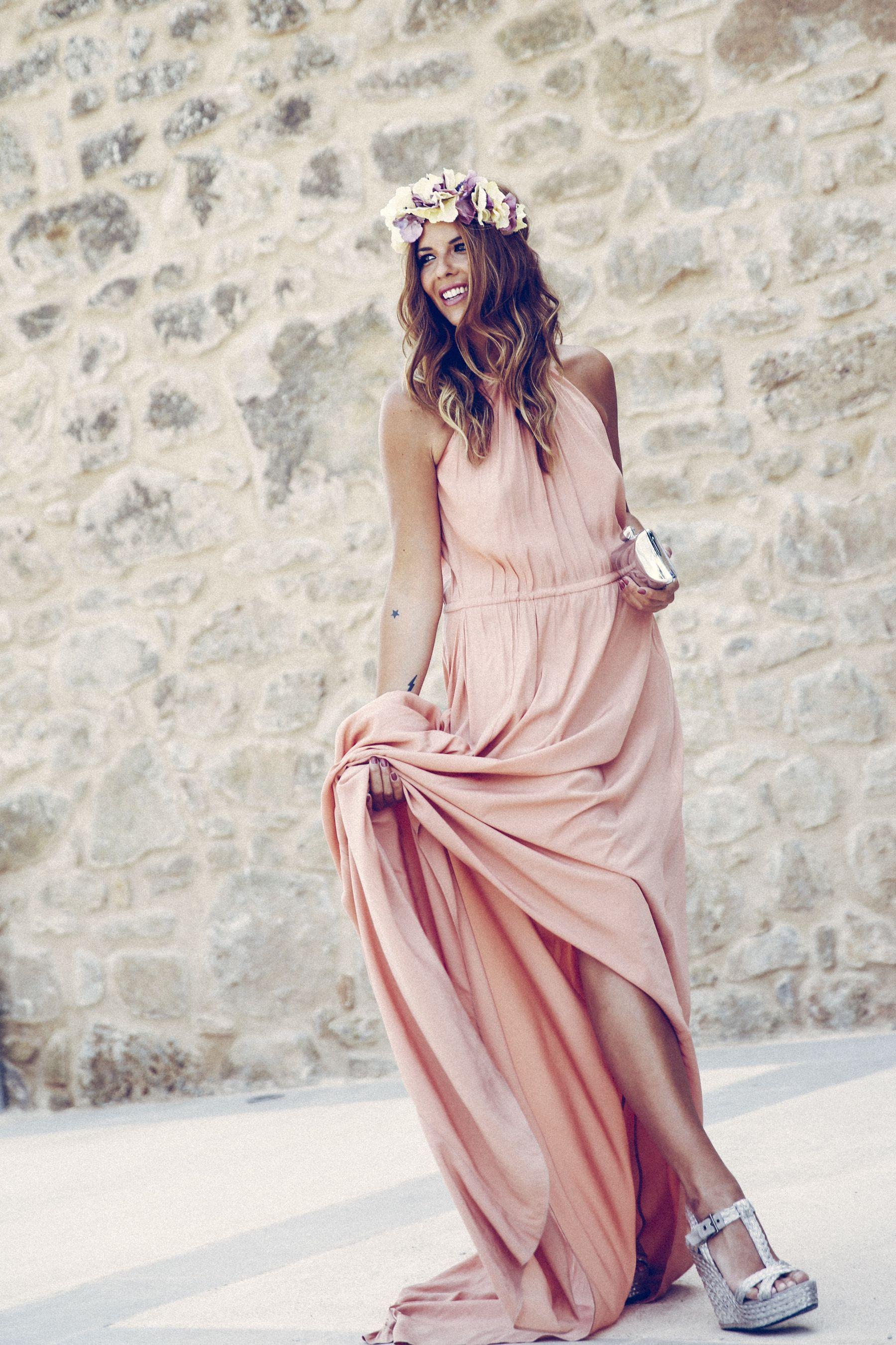 adolfo dominguez dress vestido pura lopez sandalias ...