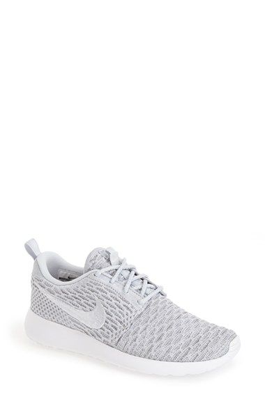 e17aa901955 Nike FlyKnit Roshe Run Sneaker (Women) available at  Nordstrom Sapatos