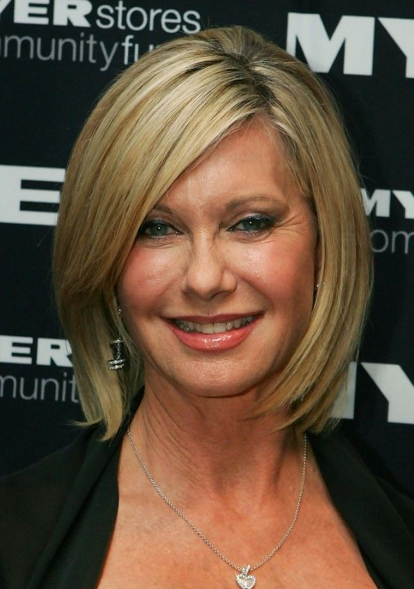 Olivia Newton John Short Hairstyle For Women Over 50s 60s
