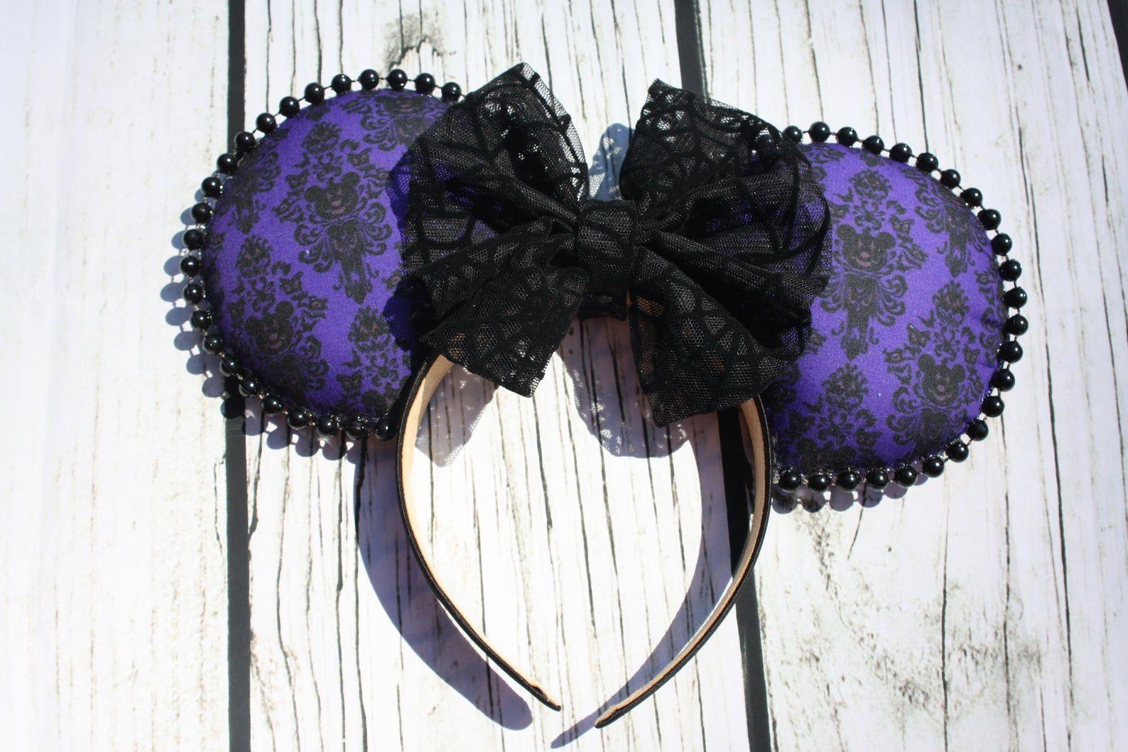 Disney Ears, Haunted Mansion Ears, Halloween Ears Disney
