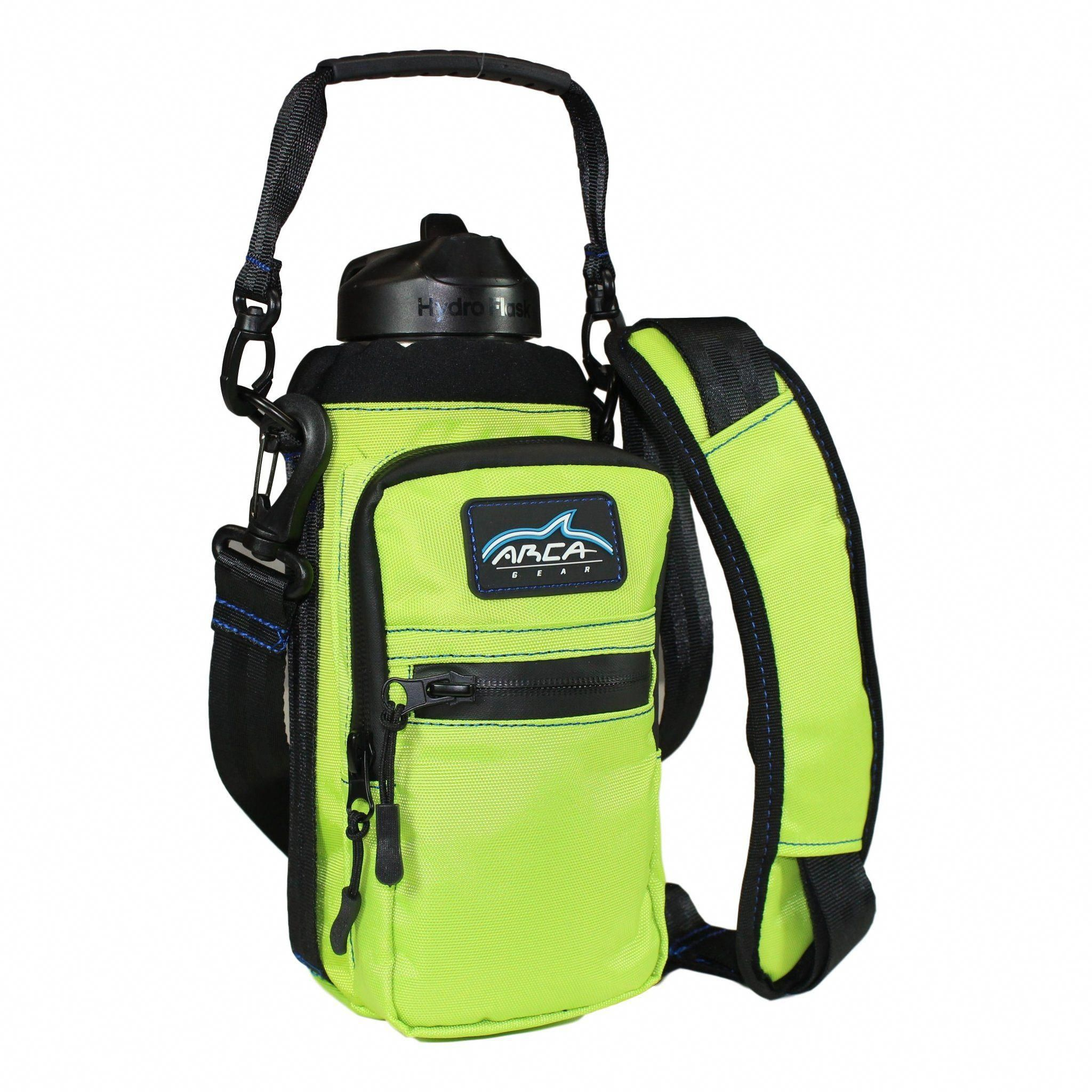 32 oz Water Bottle Carrier with Shoulder Strap and Handle