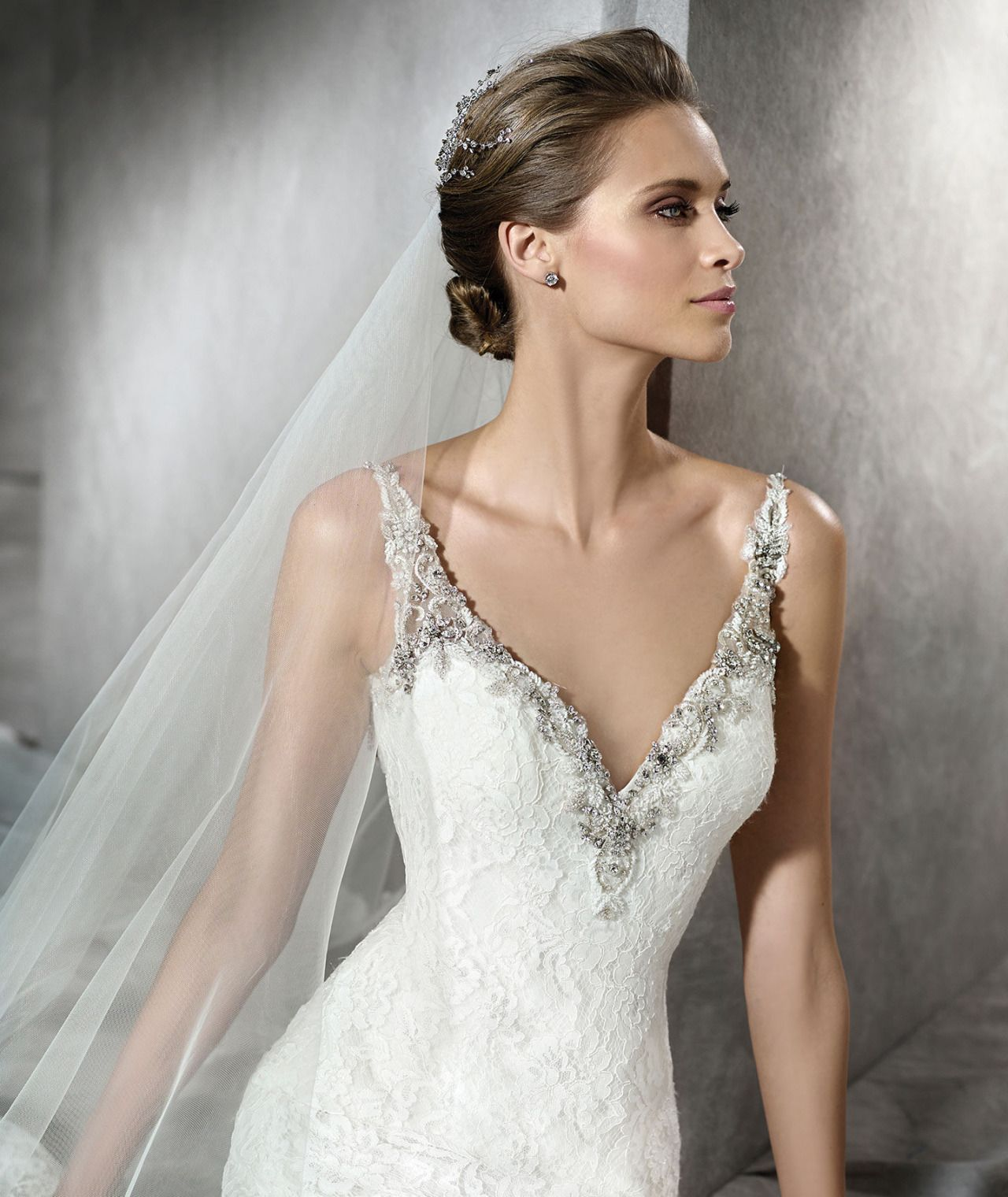 Dress of the Day! PRAMA by Pronovias from their... - confetti ...