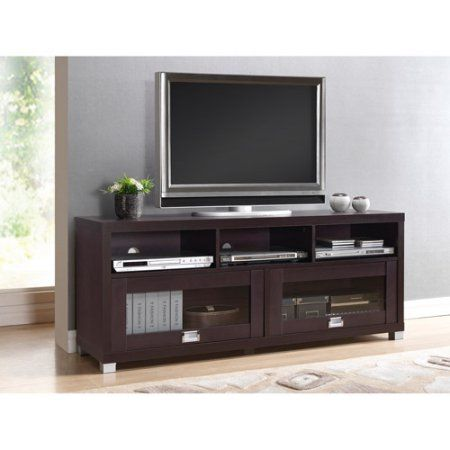 techni mobili 58 durbin tv stand for tvs up to 75 espresso or rh pinterest com